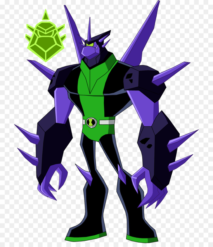 ben 10 drawing animation cannonbolt crystalline body png download