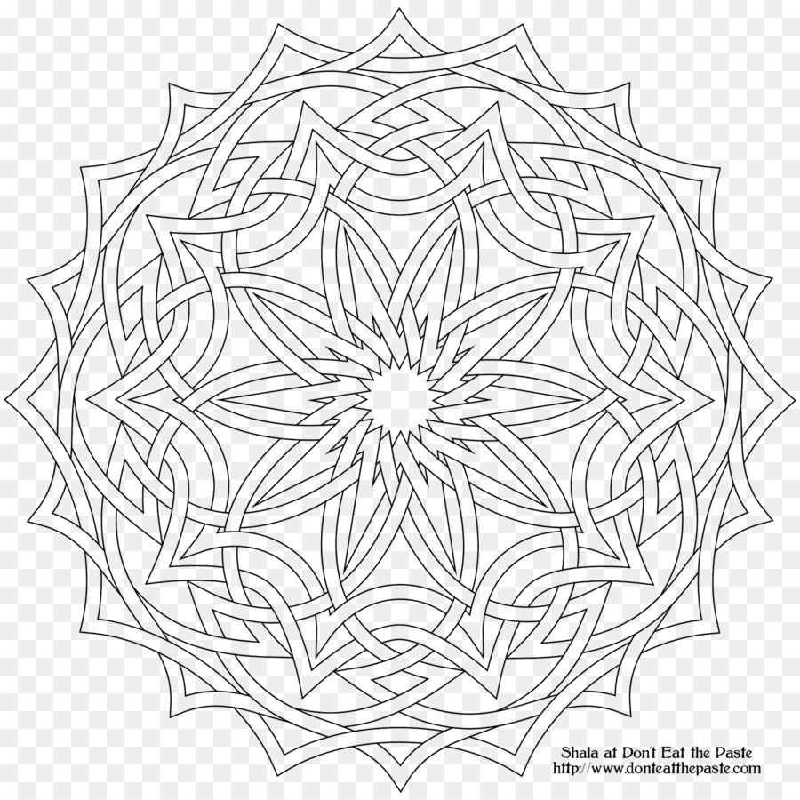 La geometría sagrada círculos Superpuestos de la cuadrícula de ...