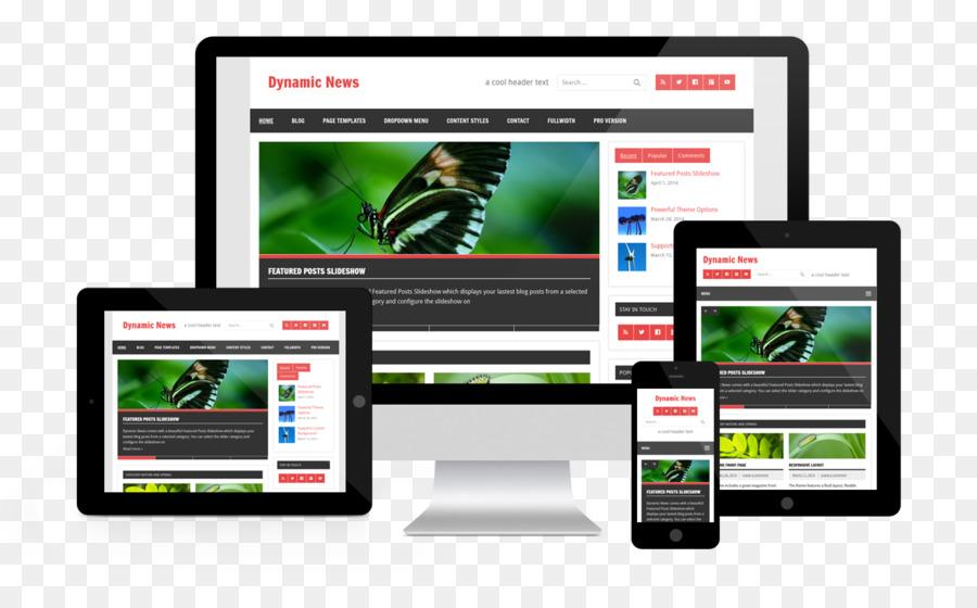 Tema de WordPress Equipo de Software de diseño web Responsive ...