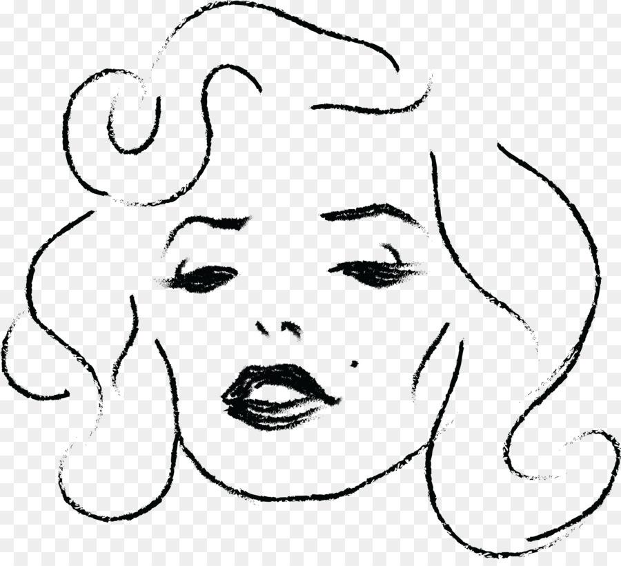 Libro para colorear de Betty Boop de Dibujo - marilyn vector png ...