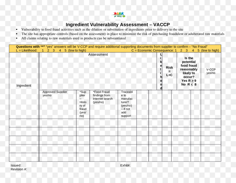 Vulnerability assessment paper document template risk assessment vulnerability assessment paper document template risk assessment anti copy maxwellsz