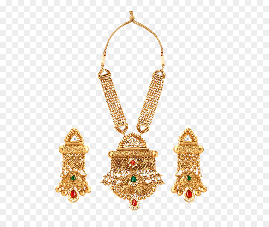 Earring Jewellery Hasmukhlal Jewellers Tanishq Necklace - golden harvest png download ...
