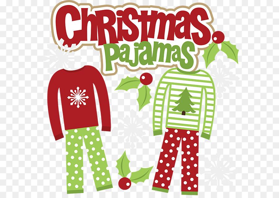 pajamas christmas party sleepover clip art pajamas png