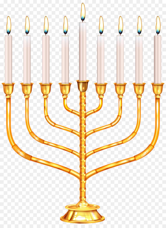 Menorah Celebration Hanukkah Clip Art Judaism Png Download 5898