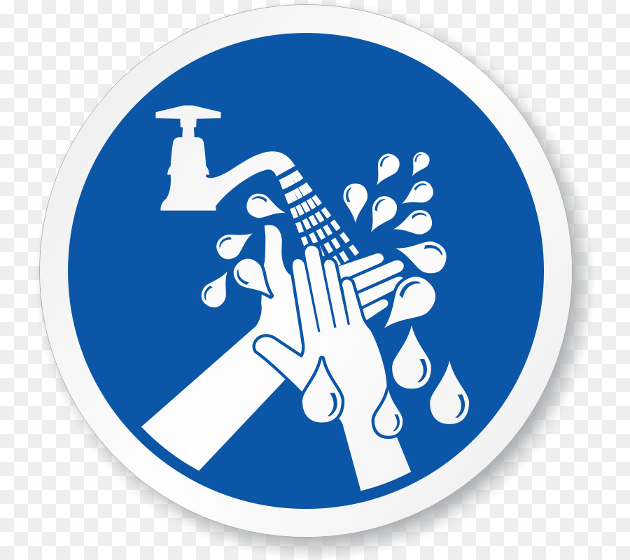 Laundry Symbol Hand Washing Sign Raise Hand Png Download 800800