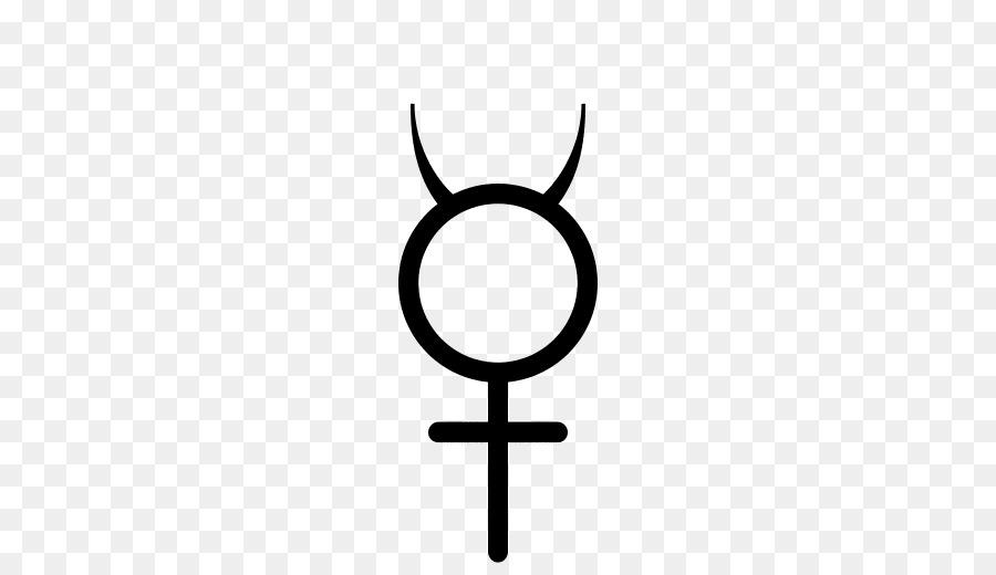 Astrological Symbols Mercury Planet Symbols Gender Symbol Png