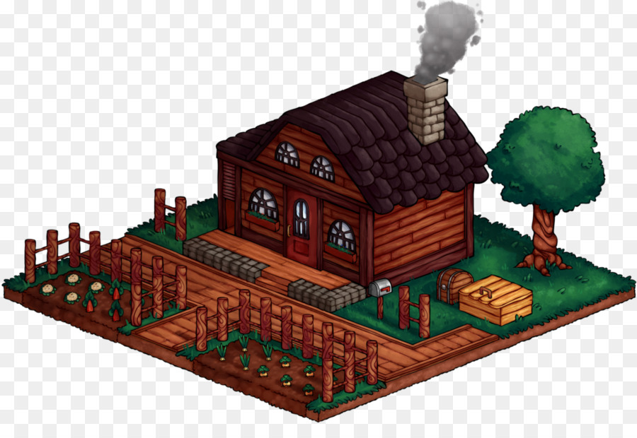 Stardew Valley House png download - 1024*696 - Free Transparent