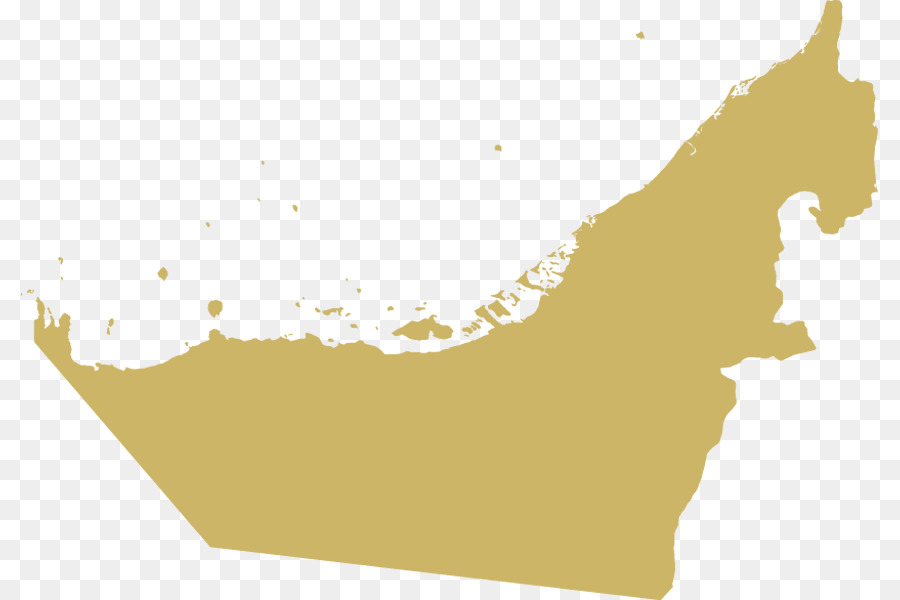 Abu Dhabi Dubai Fujairah Emirates of the United Arab Emirates Map ...