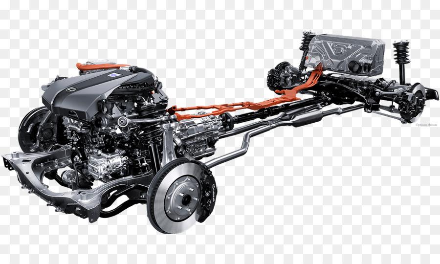 Lexus ES Car 2018 Lexus LC 500 Engine   Shock Absorbers