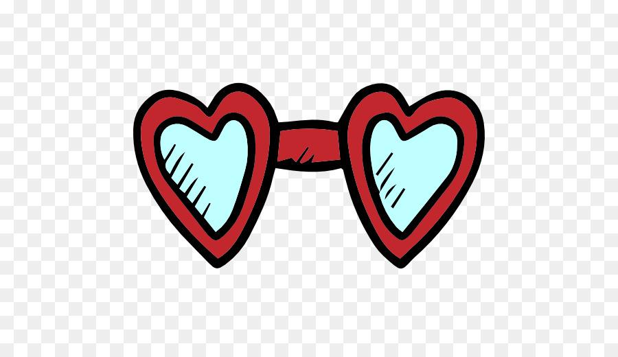 Dia dos namorados Ícones do Computador Óculos de sol Clip-art - desenhado a  mão 0fa858124b