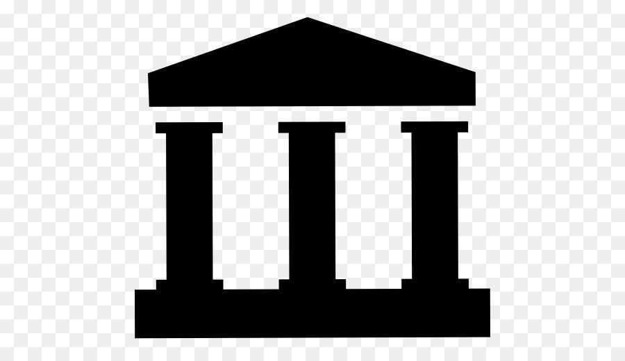 Templo de la Columna de la Antigua arquitectura griega Clip art ...