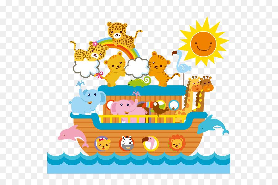 Noah's Ark Animals Child Clip Art
