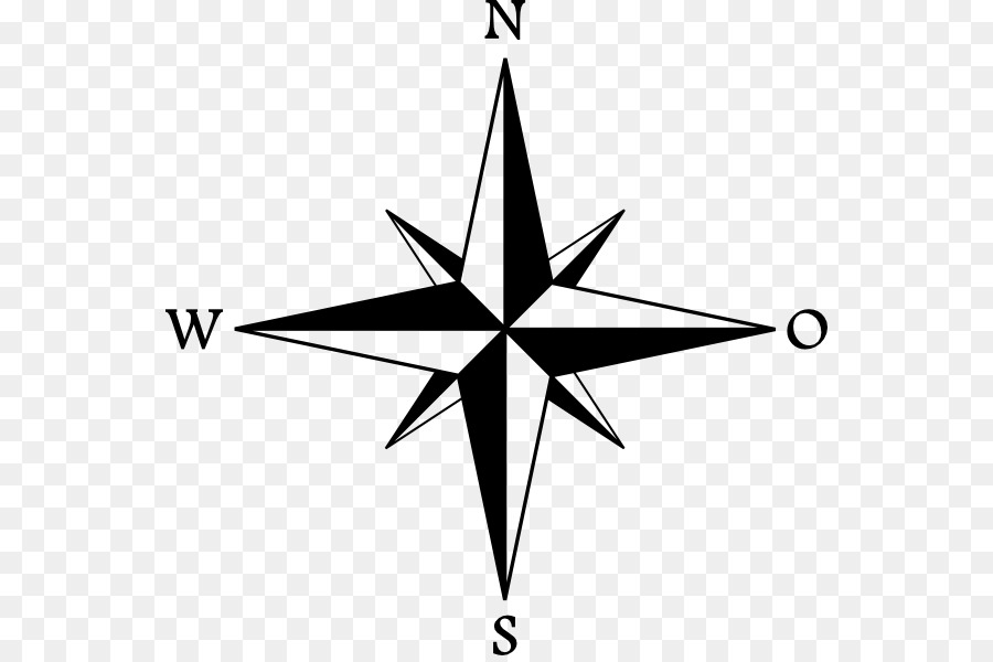 North Cardinal direction Compass - old map and compas png ...