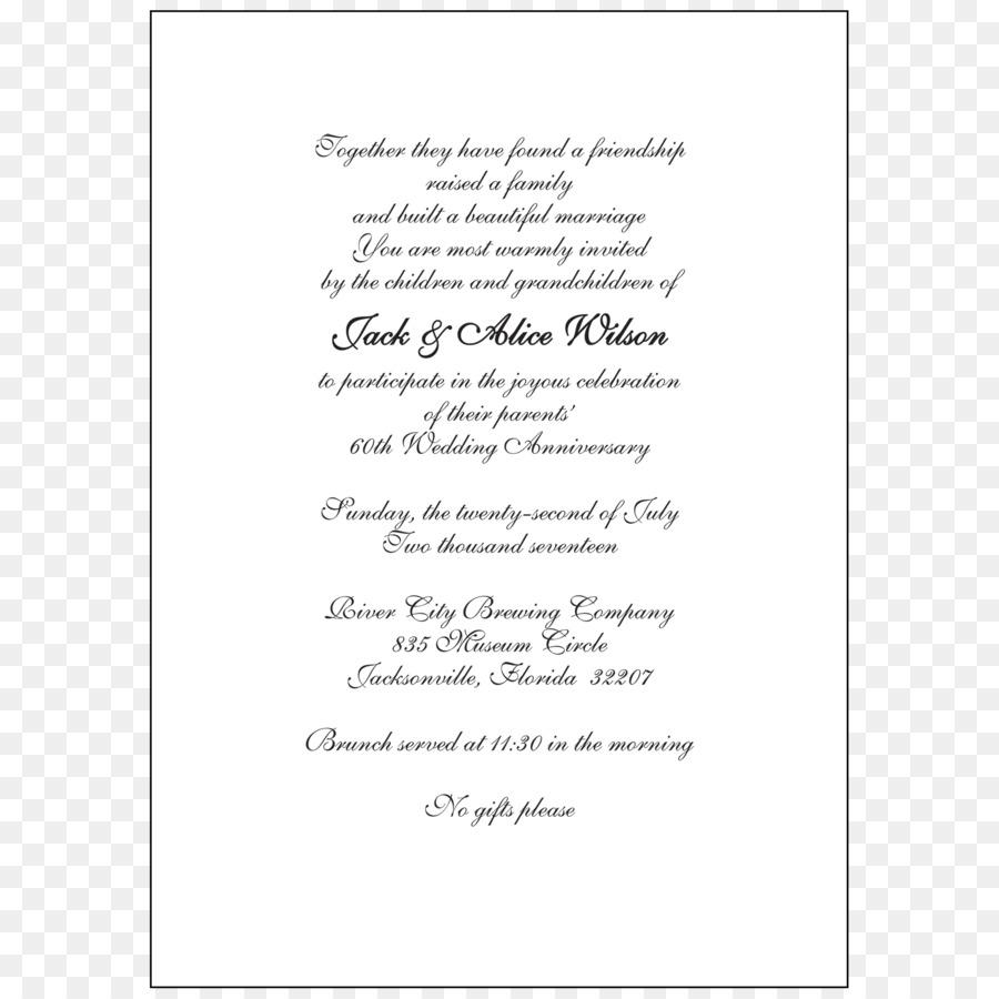 Wedding invitation Wedding anniversary Convite - Wedding Inv png ...