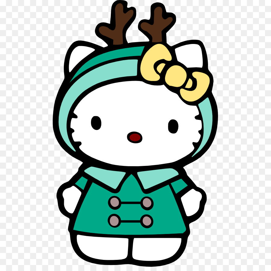 hello kitty drawing christmas clip art remind clipart png download rh kisspng com clip art hello kitty easter clipart hello kitty birthday
