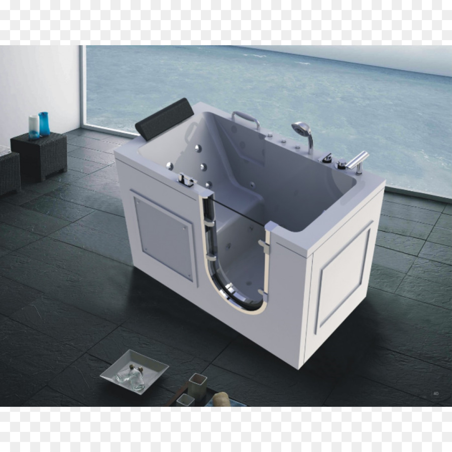 Accessible bathtub Hot tub Shower Konketa - bathtub acrylic png ...