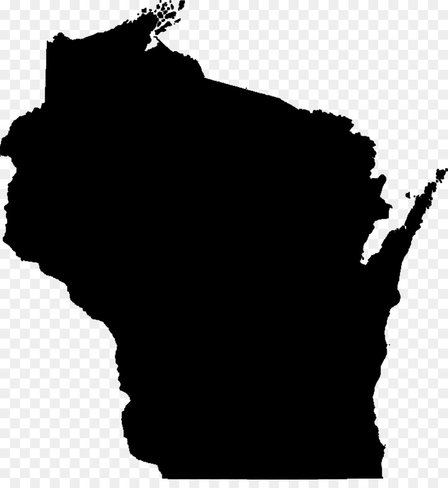 wisconsin blank map clip art state