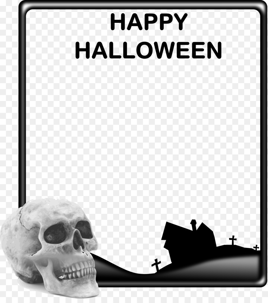 Picture Frames Halloween Clip art - Copyspace png download - 2865 ...