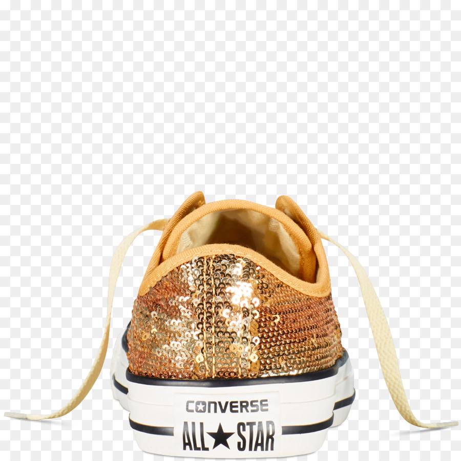 42275324b3141 Schuh Chuck Taylor All-Stars Converse Schuhe Pailletten - gold Pailletten