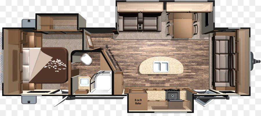 Campervans Caravan Floor Plan Interior Design Services