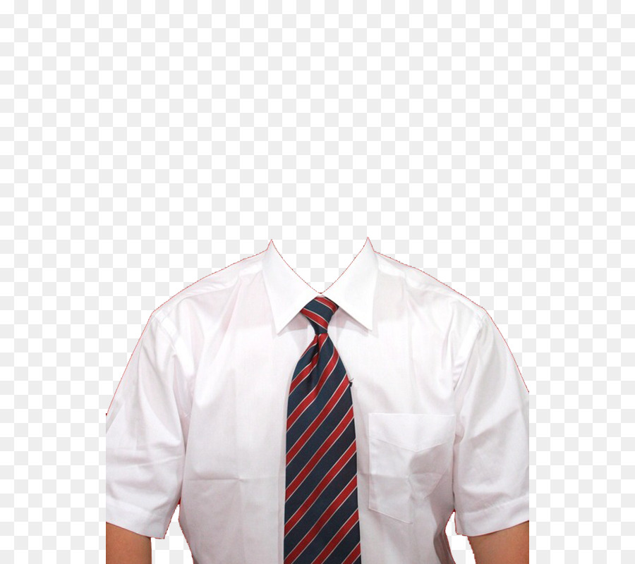 t shirt necktie template white collar business png download 600