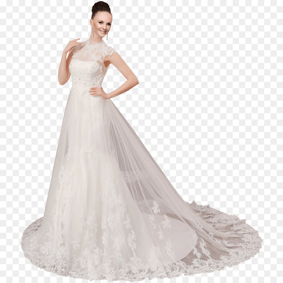 Wedding dress Ball gown - dress png download - 1000*1000 - Free ...