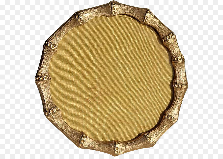 Picture Frames Bamboo Gilding Bed frame - metal round box png ...