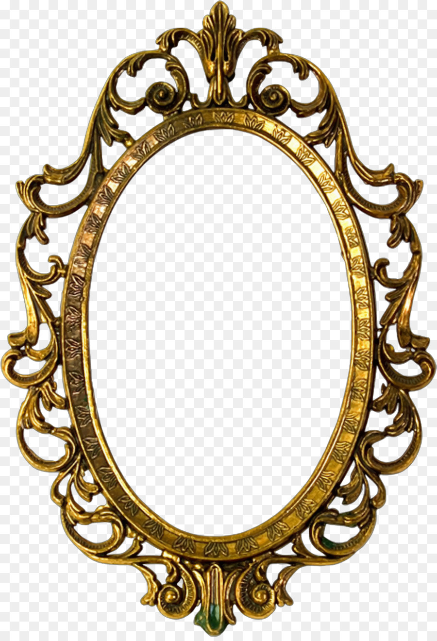 picture frames window gold glass oval ornate vector png download