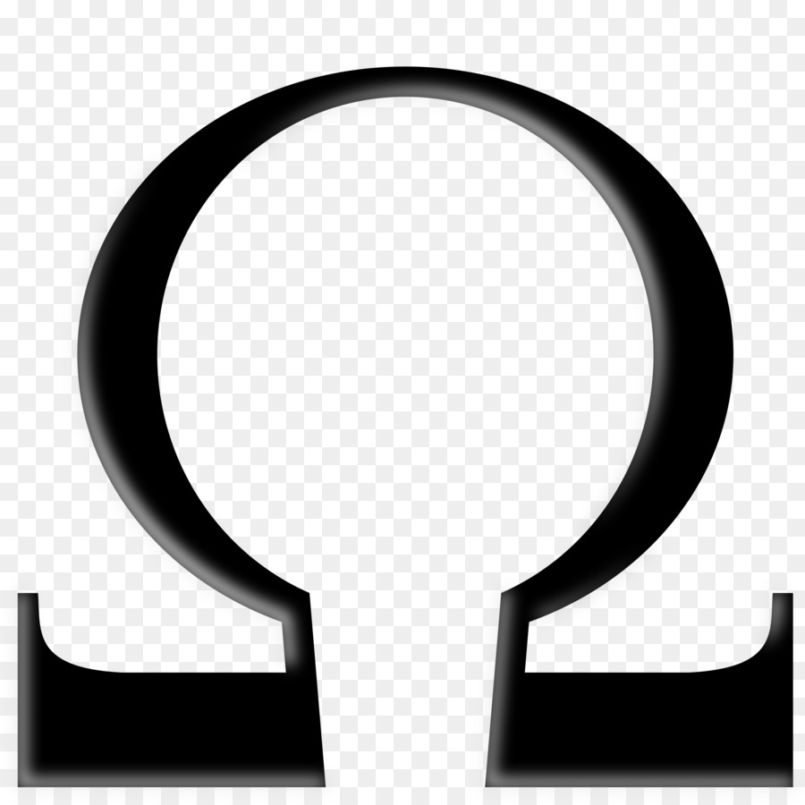 Alpha And Omega Symbol Ohm Clip Art Chrono Vector Png Download
