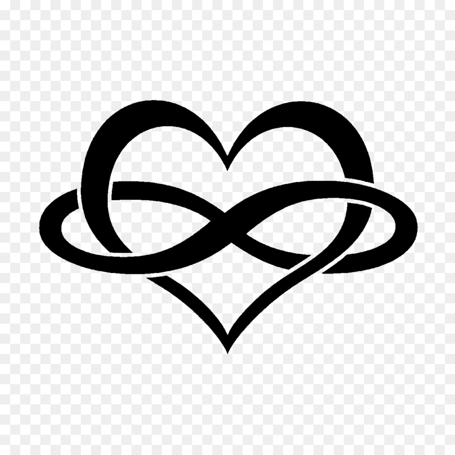Infinity Symbol Heart Tattoo Persevere Png Download 12001200