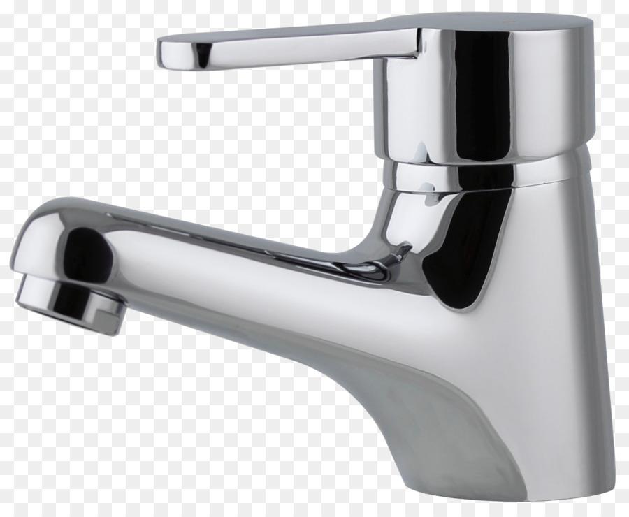 Tap Bathroom Mixer Shower Bathtub - ceramic basin png download ...