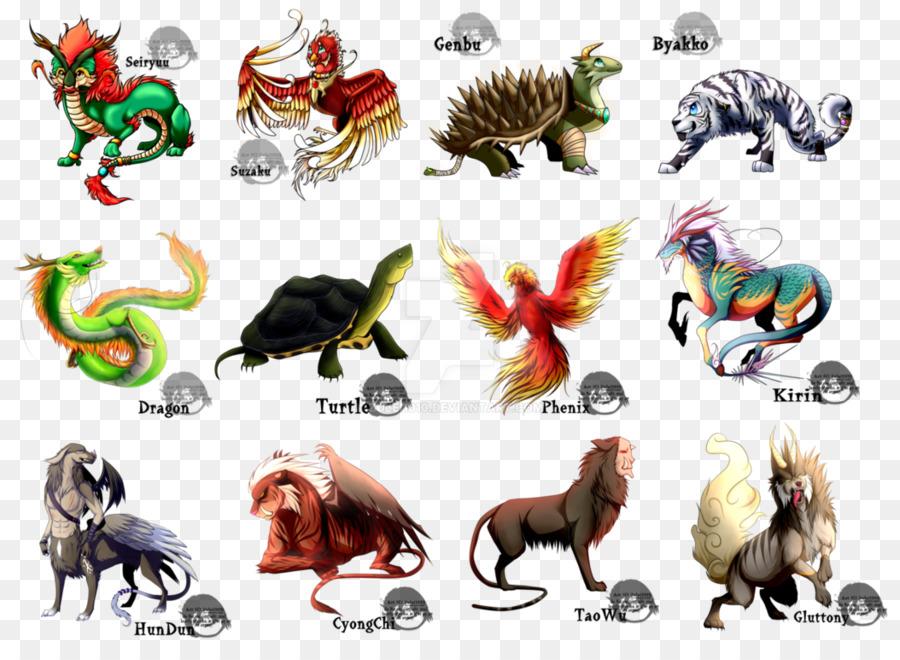 Pony Legendary Creature Chinese Mythology Animal Worship Four