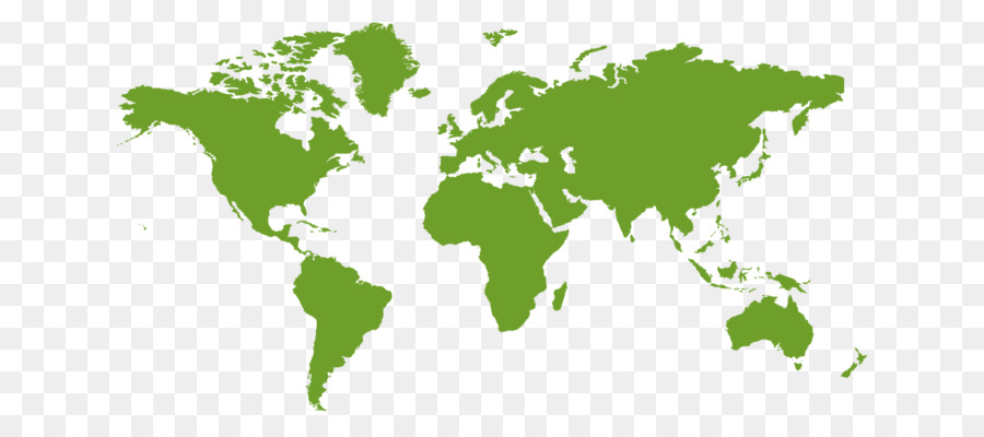 World map Silhouette - social consciousness png download - 1140*500 ...