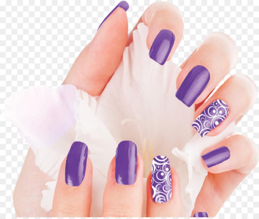 Lovely Nail & Spa Nail art Gel nails Manicure - nail poster png ...