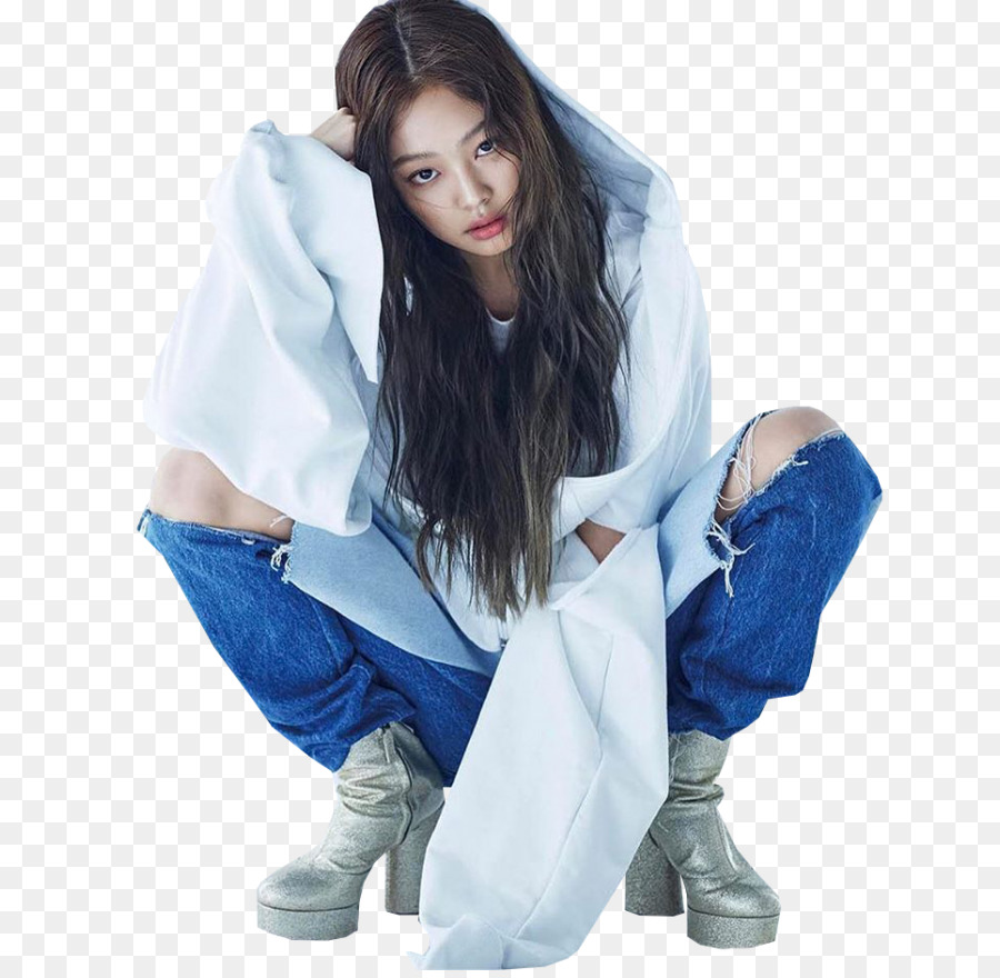 7e336d4f7a Jennie Kim BLACKPINK Dazed K-pop Art - mid ad png download - 700 873 - Free  Transparent png Download.