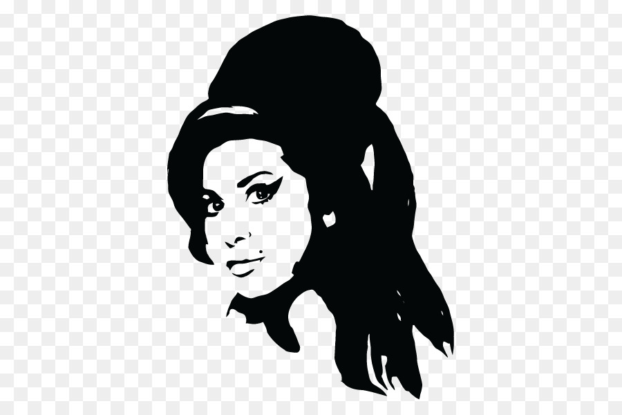 Amy Winehouse Adhesive Sticker Drawing Paper Mural Png Download