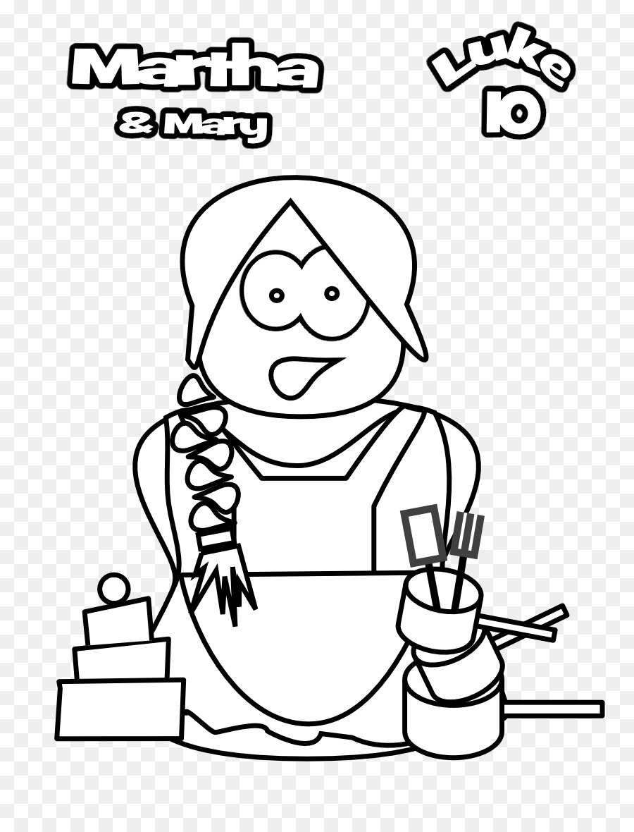 Jesus At The Home Of Martha And Mary Gospel Luke Bible Coloring Book Disciple Whom Loved