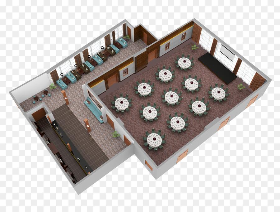 3d Floor Plan House Plan Double Storey Building Png Download 900