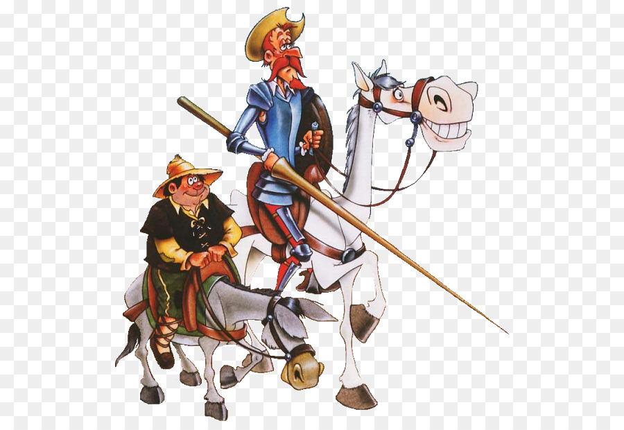 Don Quixote Sancho Pansa Rosinante Dulcinea Del Toboso Man Of La