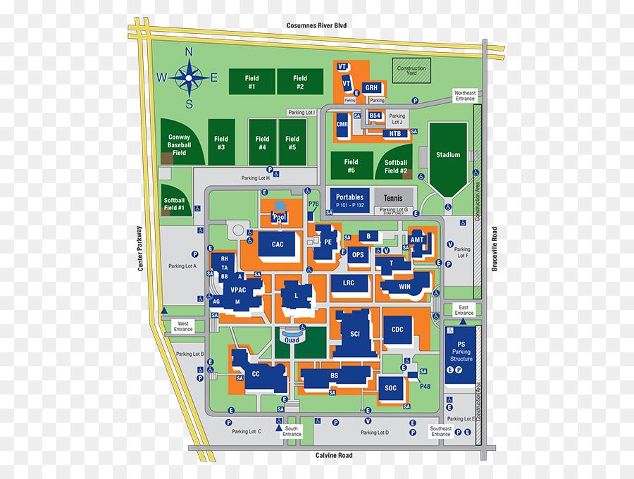 Cosumnes River College Campus Ventura College Map Adrift Png
