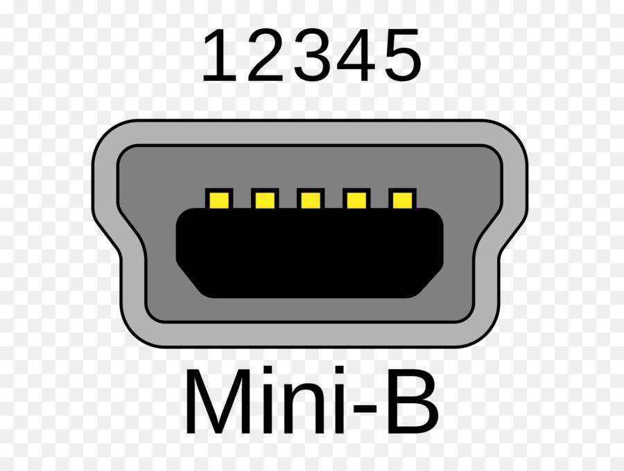 Mini-USB USB On-The-Go Micro-USB Electrical connector - receptacle ...