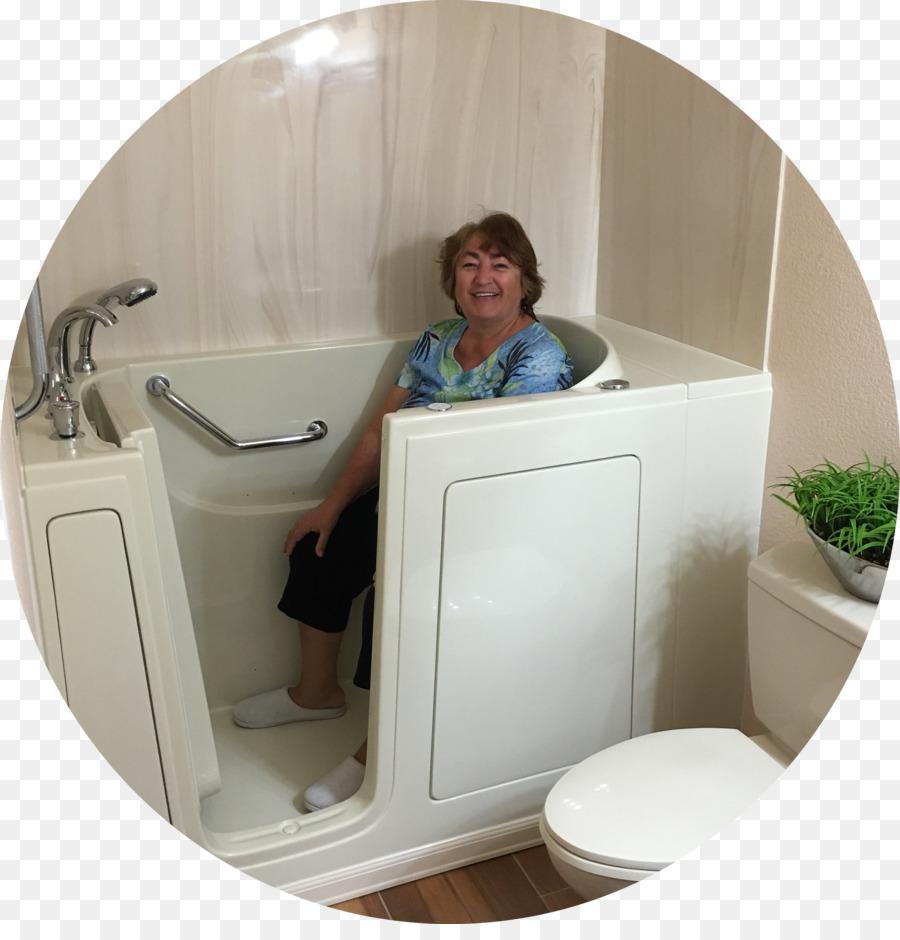 Hot tub Accessible bathtub Shower Bathroom - bath tub png download ...