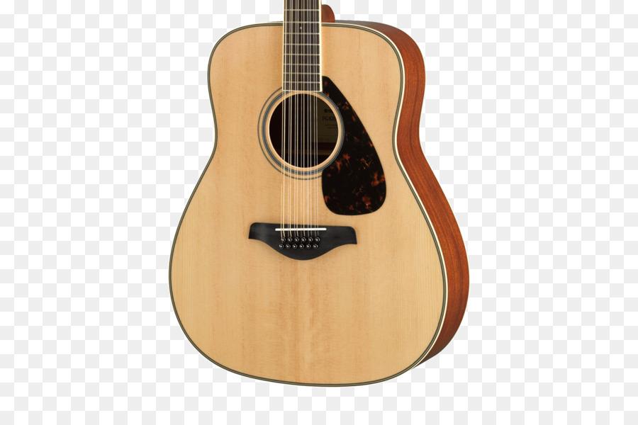 Dua belas-string gitar Yamaha Corporation Baja-string gitar akustik - senar gitar