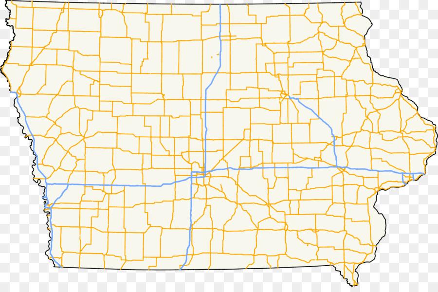 Iowa Highway 163 Iowa Primary Highway System Us Route 71 Iowa - Us-highway-71-map