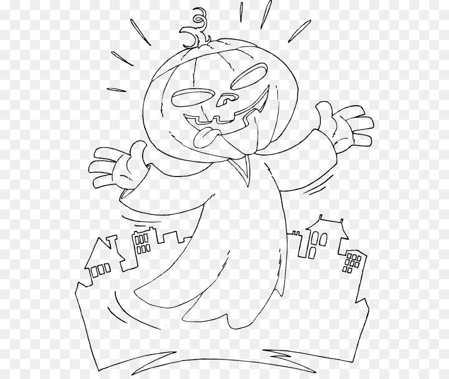 Jack-o\'-lantern de Halloween para Colorear libro de Calabaza Niño ...