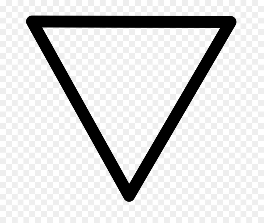 Alchemical Symbol Water Classical Element Earth Inverted Triangle