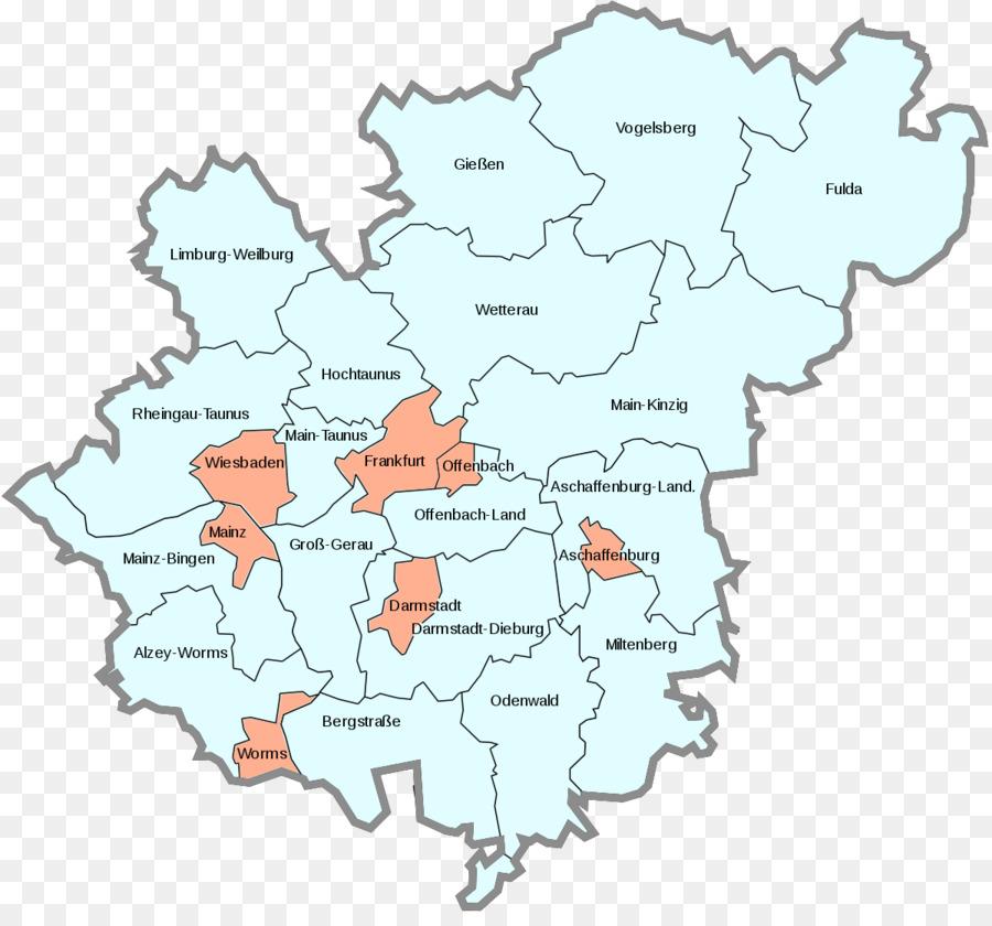 Frankfurt Darmstadt Main Rhine Ruhr Main Map Png Download 1200