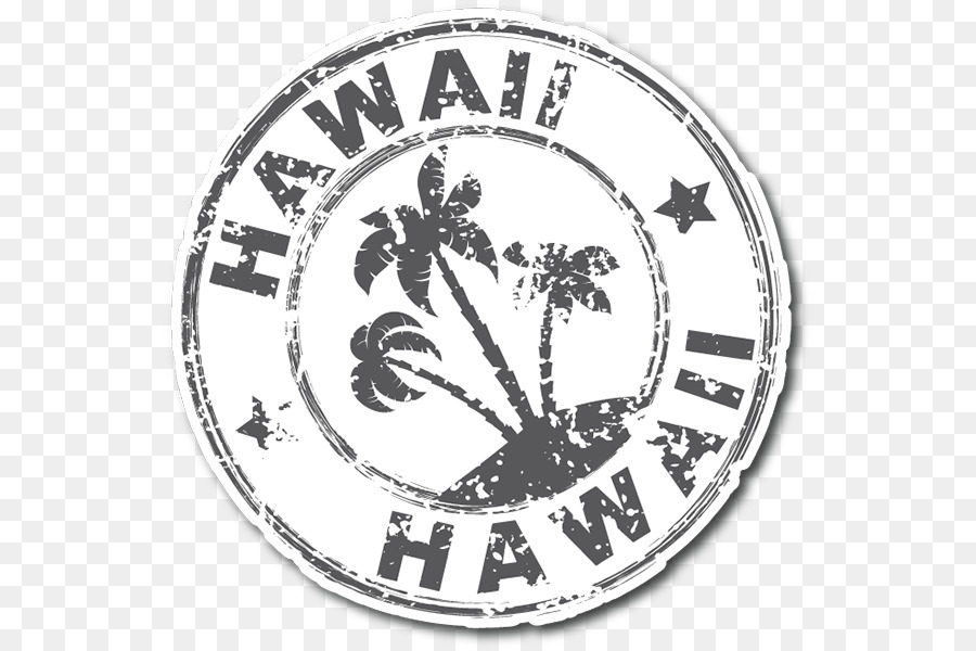 Hawaii paper sticker decal postage stamps antiquity poster material