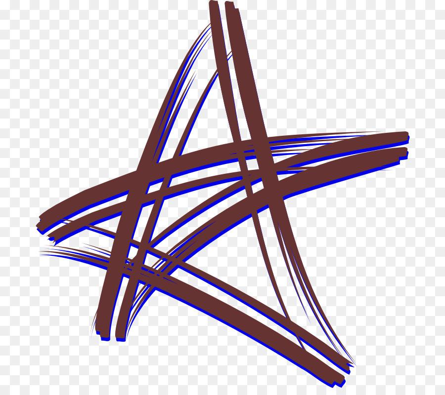 Fünf-Stern-Grenzen und Rahmen, Clip-art - Striche clipart png ...