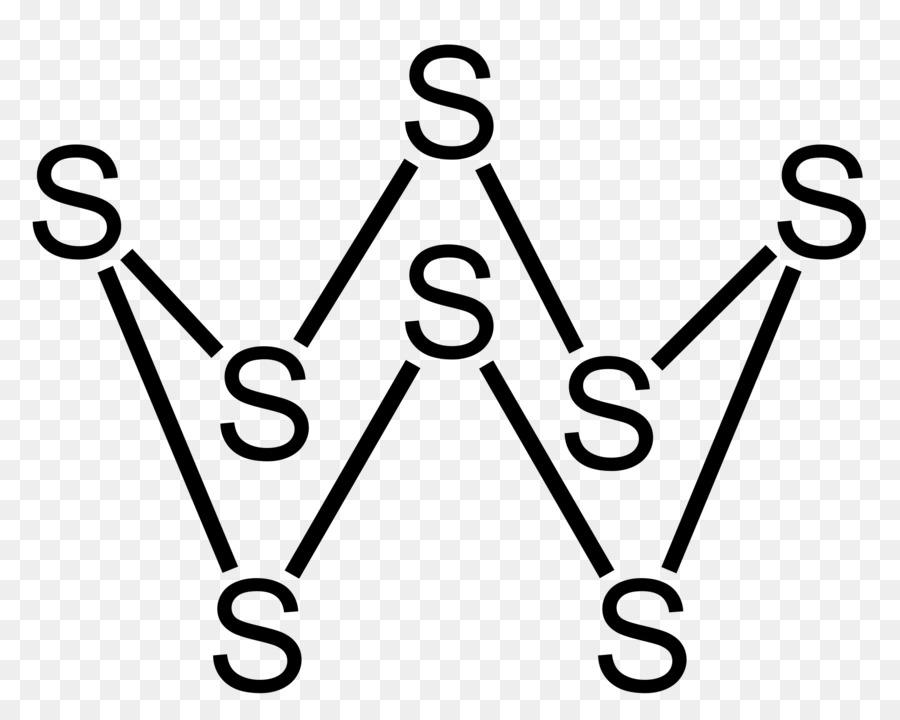 Octasulfur Symbol Chemical Element Molecule Exchange Of Rings Png